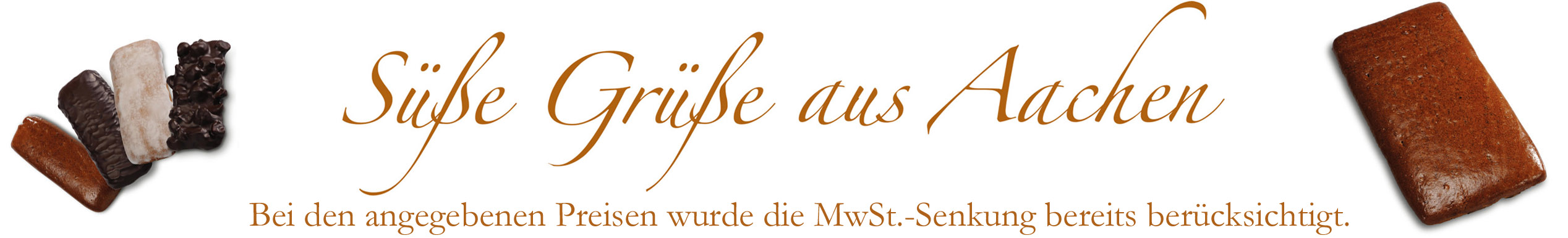 Süße Grüße aus Aachen - Banner